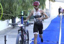 Juanma Gómez en Triatlón de Tíjola 2018