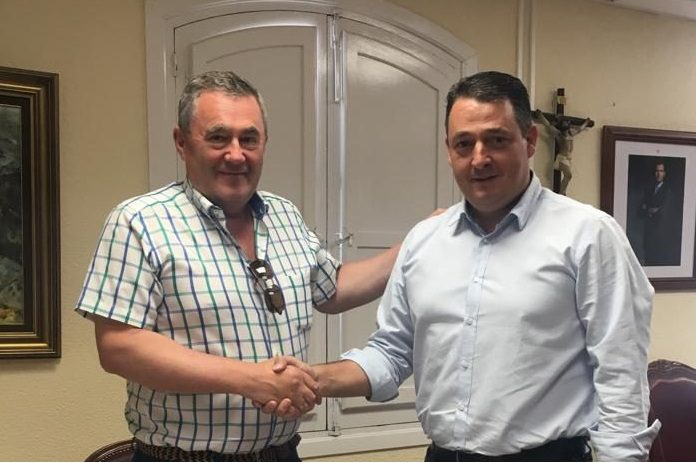 Mario Padilla junto a José Juan Martínez
