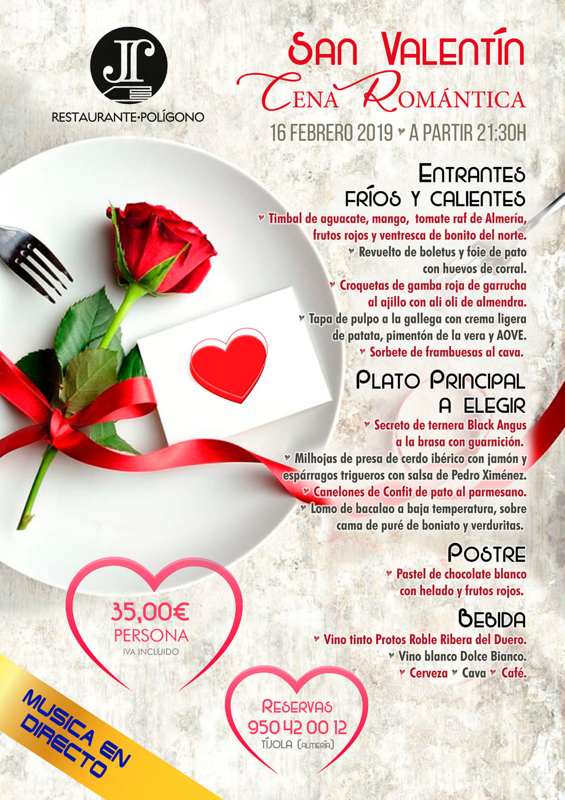 Restaurante El Poligono de Tíjola