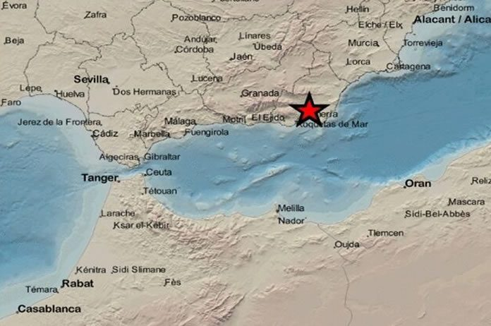 Terremoto en Tíjola