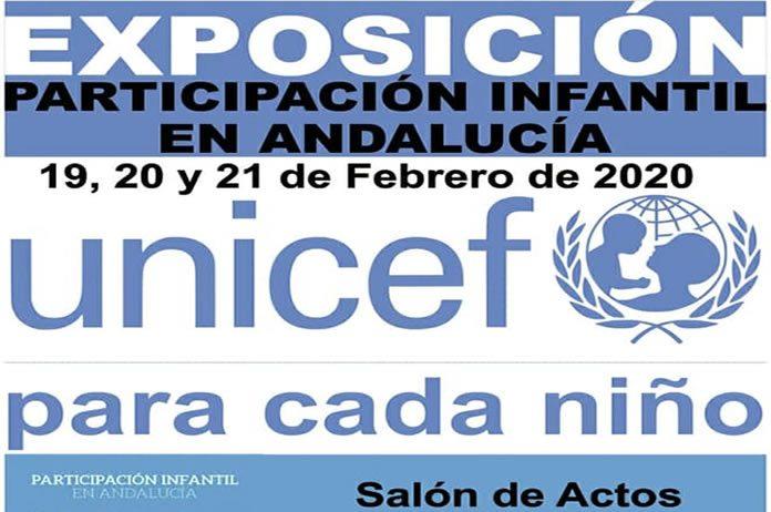 Cartel de la exposición Unicef