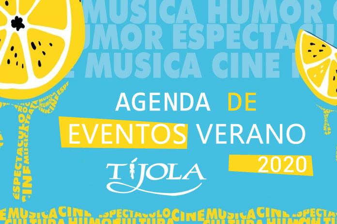 Agenda Eventos Verano en Tíjola 2020