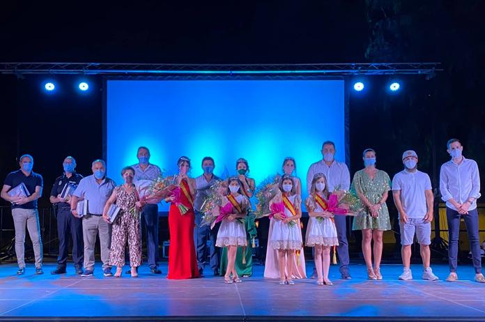 Coronación de reinas Tíjola 2020