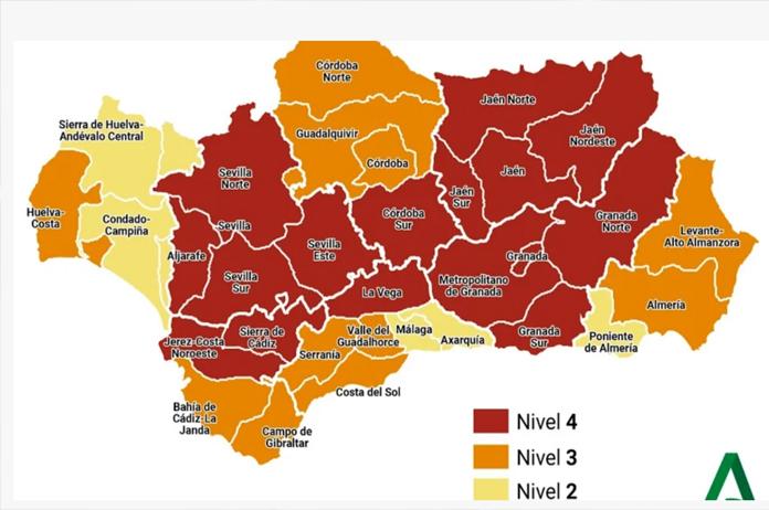 Mapa de incidencias coronavirus