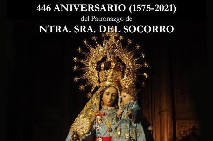 Patrona de Tíjola . Virgen del Socorro