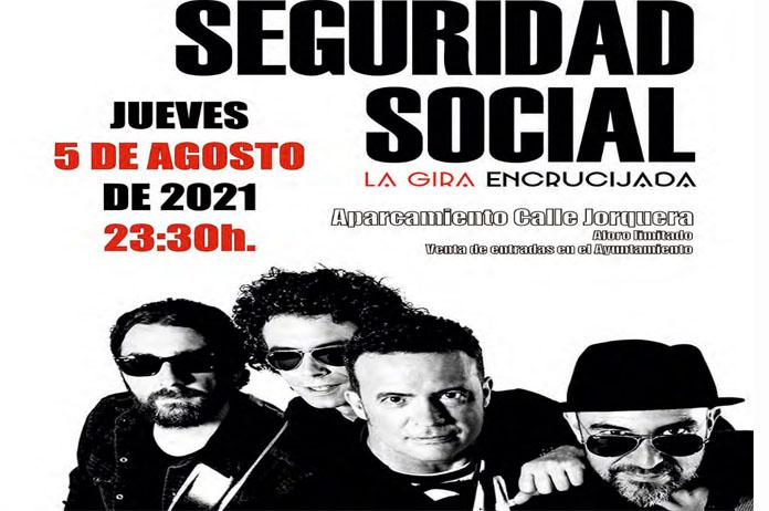 Concierto Seguridad Social en Tíjola